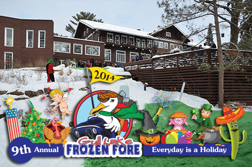 Everyday is a Holiday during the 9th Annual Gull Lake Frozen Fore!