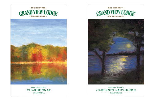 Local Artist Selected for Grand View Lodge Wine Labels